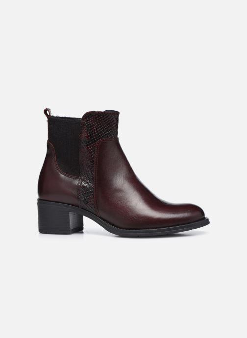 Bottines et boots Georgia Rose Soft Rozalla Bordeaux vue derrière