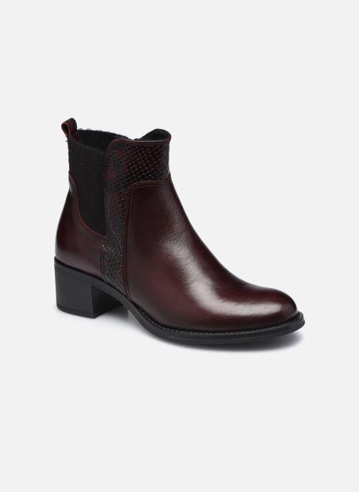 Bottines et boots Georgia Rose Soft Rozalla Bordeaux vue détail/paire