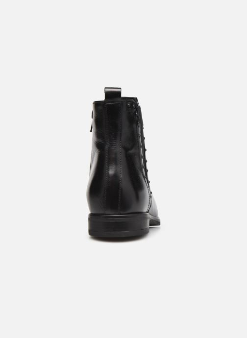 Bottines et boots Georgia Rose Soft Régine Noir vue droite