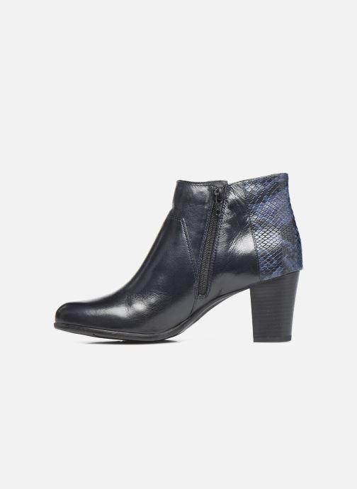 Bottines et boots Georgia Rose Soft Roy Bleu vue face