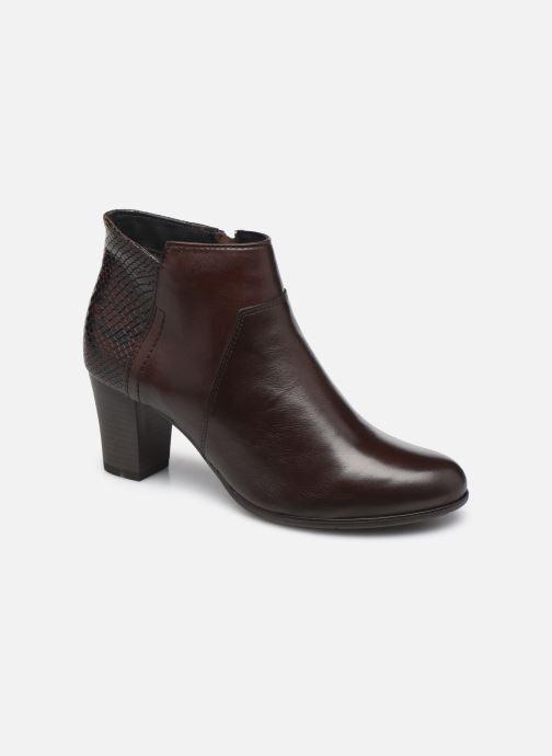 Bottines et boots Georgia Rose Soft Roy Marron vue détail/paire