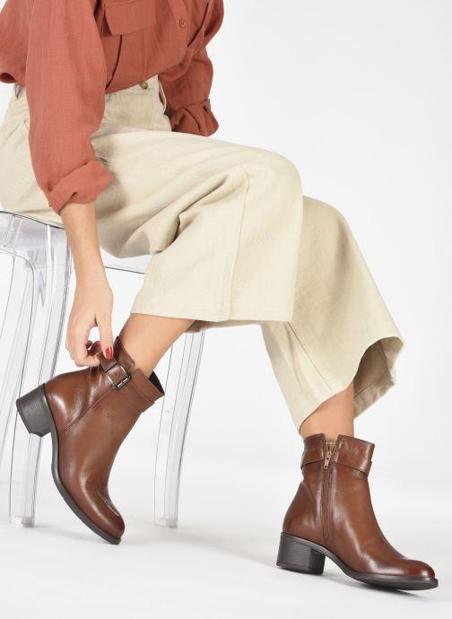 Bottines et boots Georgia Rose Soft Romane Marron vue bas / vue portée sac