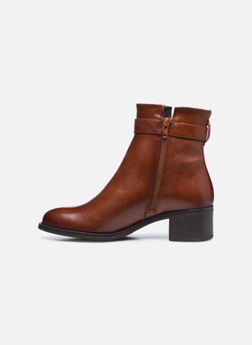 Bottines et boots Georgia Rose Soft Romane Marron vue face
