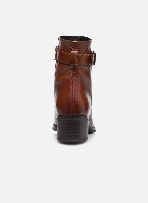 Bottines et boots Georgia Rose Soft Romane Marron vue droite