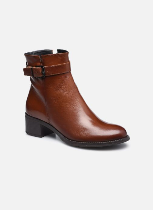 Bottines et boots Georgia Rose Soft Romane Marron vue détail/paire