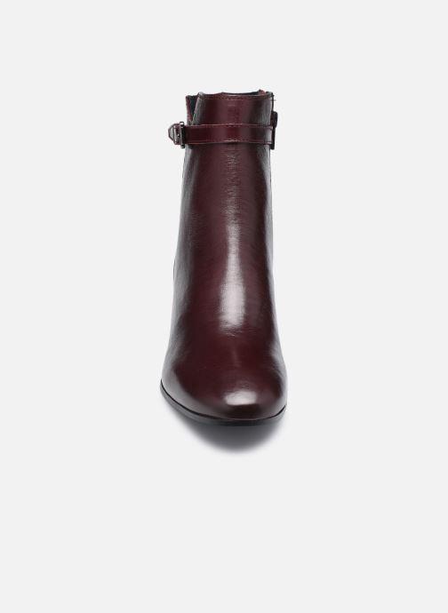 Bottines et boots Georgia Rose Soft Robine Bordeaux vue portées chaussures