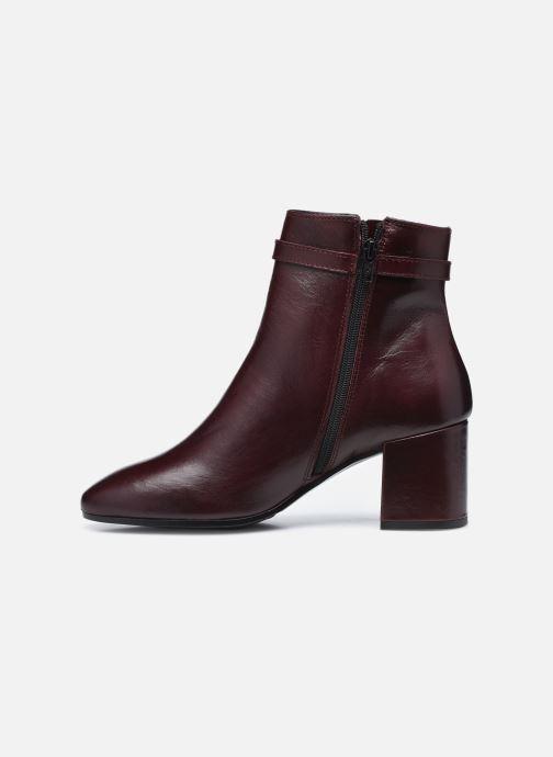 Bottines et boots Georgia Rose Soft Robine Bordeaux vue face