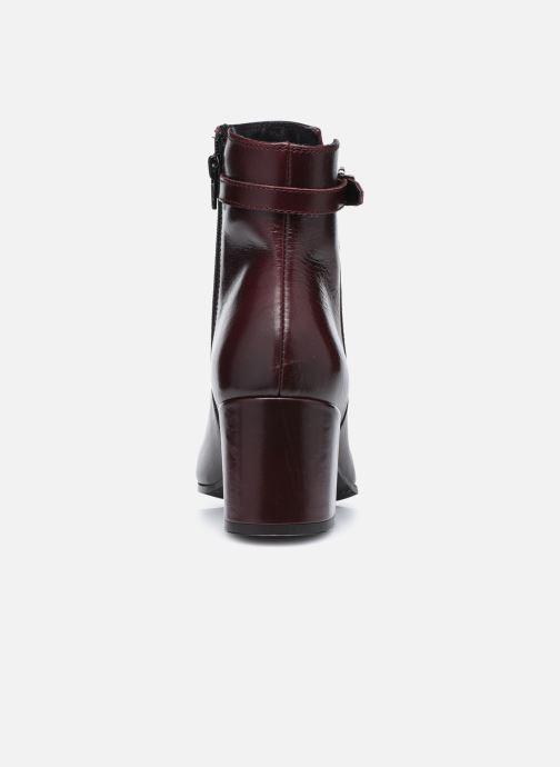 Bottines et boots Georgia Rose Soft Robine Bordeaux vue droite