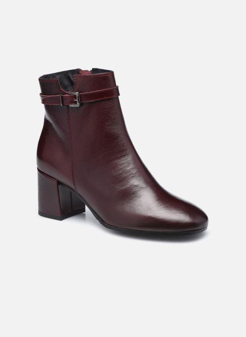Bottines et boots Georgia Rose Soft Robine Bordeaux vue détail/paire