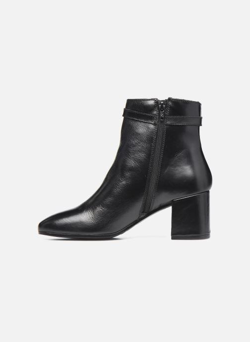 Bottines et boots Georgia Rose Soft Robine Noir vue face