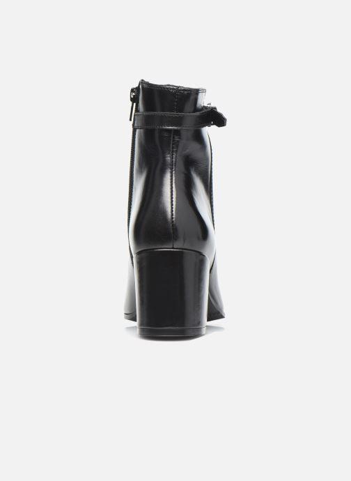 Bottines et boots Georgia Rose Soft Robine Noir vue droite