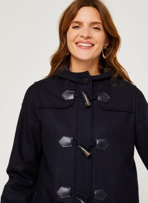 """Vêtements Armor Lux Duffle Coat """"Concarn Femme Bleu vue face"""