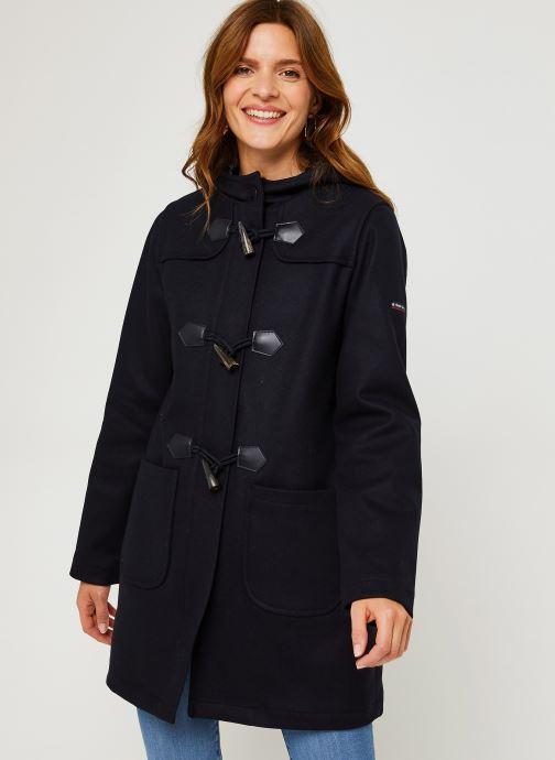 """Vêtements Armor Lux Duffle Coat """"Concarn Femme Bleu vue droite"""