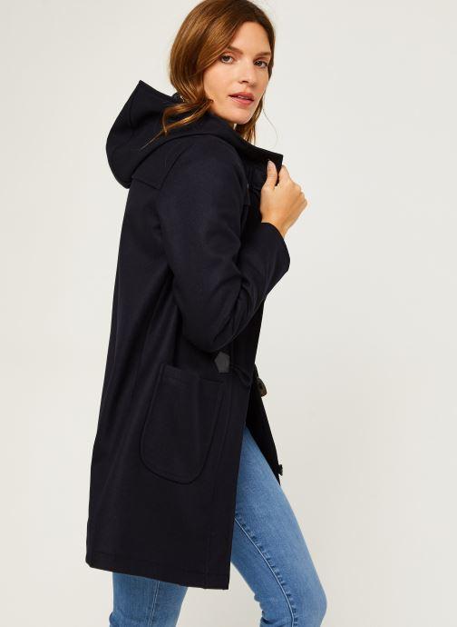 vila duffle coat mi long femme