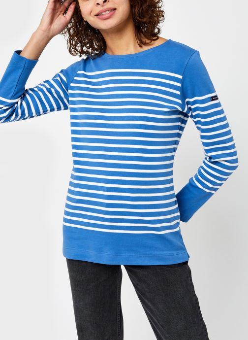 Vêtements Armor Lux Marinière ''Amiral'' Femme Bleu vue droite