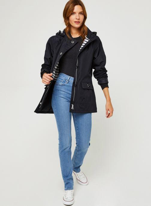 Vêtements Armor Lux Parka ''Audierne'' F Femme Bleu vue bas / vue portée sac