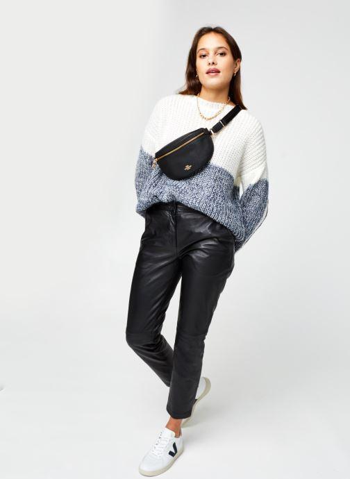 Vêtements Armor Lux Pull ML ''Pandora'' Femme Blanc vue bas / vue portée sac