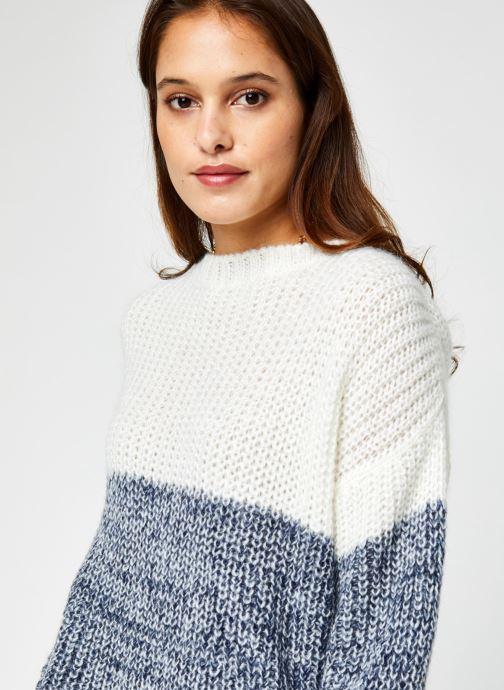 Vêtements Armor Lux Pull ML ''Pandora'' Femme Blanc vue face