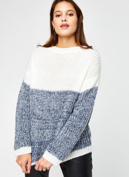 Vêtements Armor Lux Pull ML ''Pandora'' Femme Blanc vue droite
