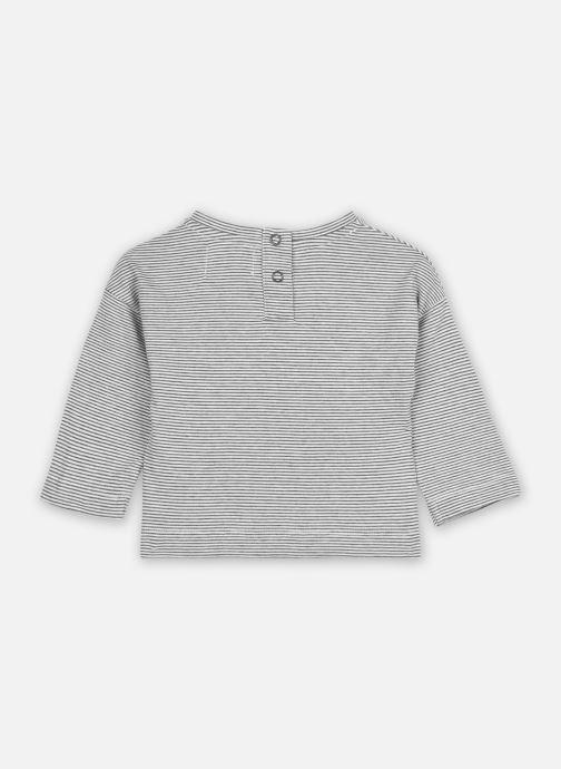 Vêtements Les Petites Choses T-shirt TFORTB Gris vue portées chaussures
