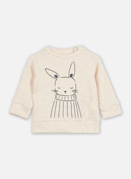 Ropa Les Petites Choses Sweat shirt TRISTAN Beige vista de detalle / par