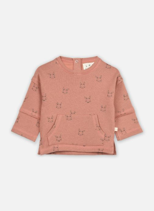 Kleding Les Petites Choses Sweat shirt LOUIS Bruin detail