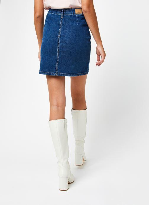 Vêtements Kanopé Jupe Castille 250 Eco Bleu vue portées chaussures