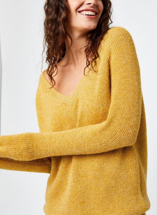 Vêtements Kanopé Pull Phoebe Or et bronze vue face