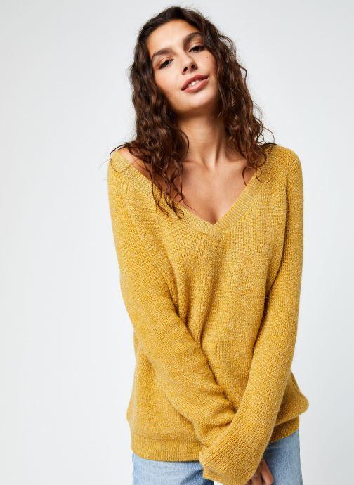 Vêtements Kanopé Pull Phoebe Or et bronze vue droite