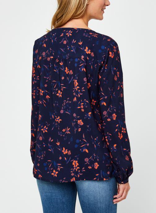 Vêtements Kanopé Chemise Doriane Dream Bleu vue portées chaussures