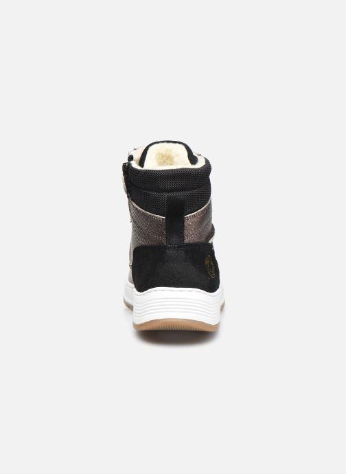 Sneaker Bullboxer AOF503E6L gold/bronze ansicht von rechts
