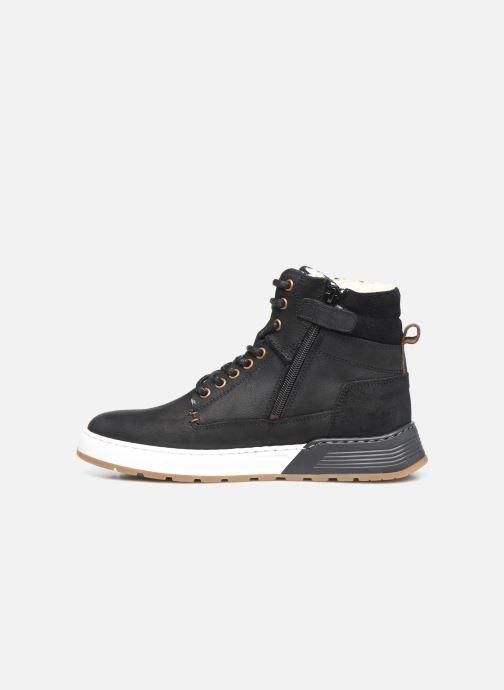 Sneaker Bullboxer AOF503E6L schwarz ansicht von vorne
