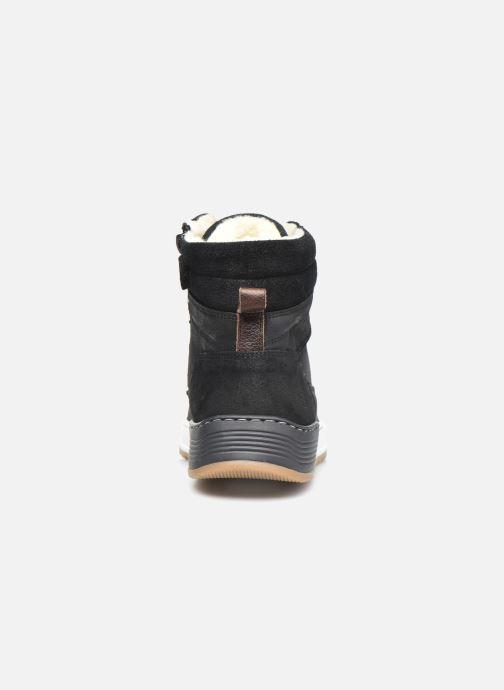 Sneaker Bullboxer AOF503E6L schwarz ansicht von rechts