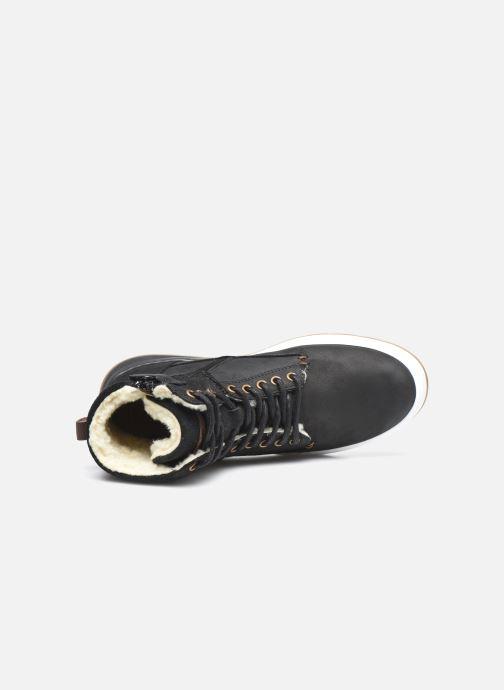 Sneaker Bullboxer AOF503E6L schwarz ansicht von links