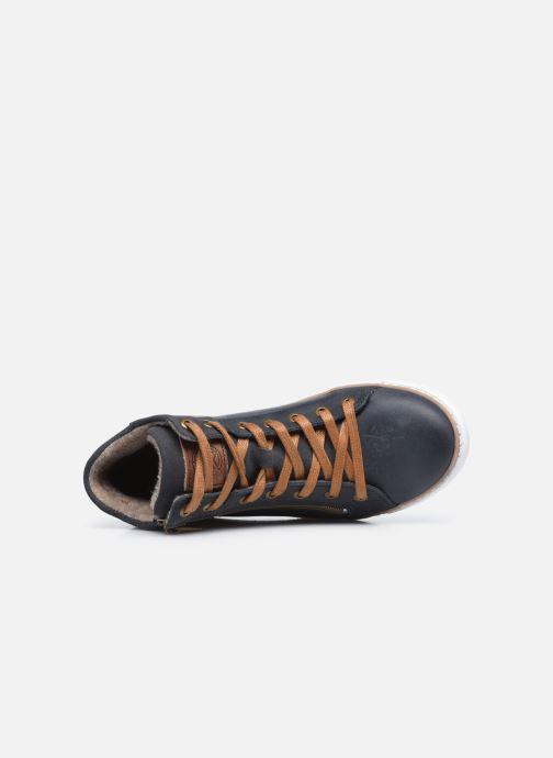 Sneaker Bullboxer AGM526E6L blau ansicht von links