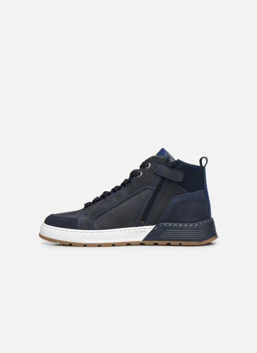 Sneaker Bullboxer AOF500E6L blau ansicht von vorne