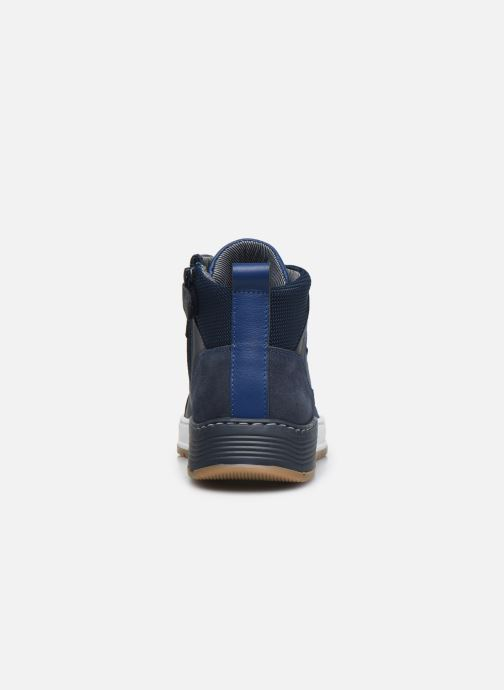Sneaker Bullboxer AOF500E6L blau ansicht von rechts