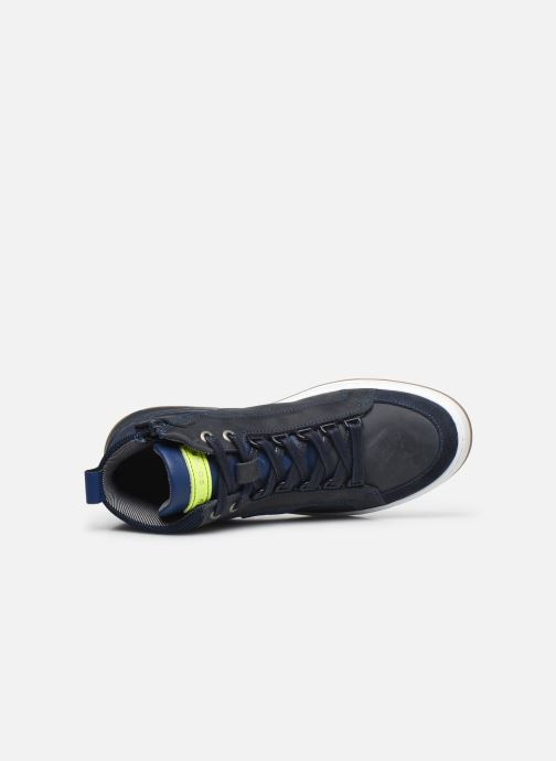Sneaker Bullboxer AOF500E6L blau ansicht von links