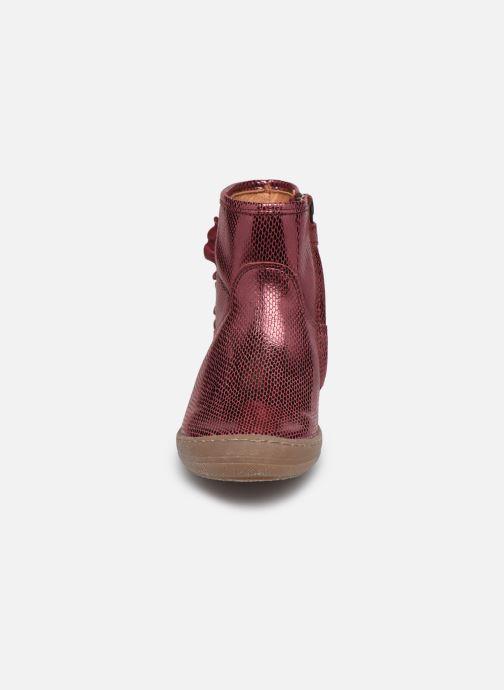 Stiefeletten & Boots Froddo G3160125 weinrot schuhe getragen