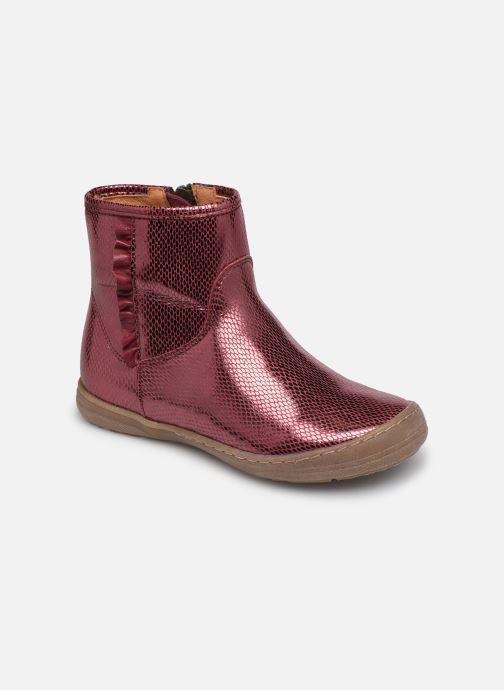 Bottines et boots Froddo G3160125 Bordeaux vue détail/paire