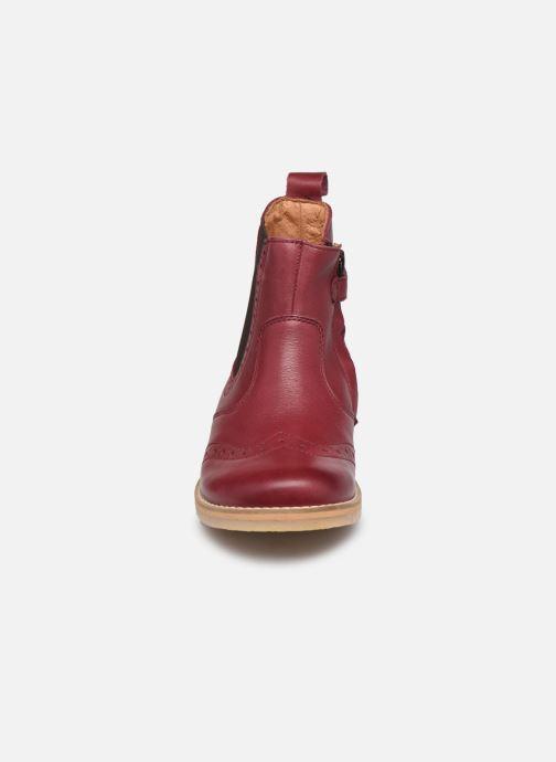 Stiefeletten & Boots Froddo G3160119 weinrot schuhe getragen