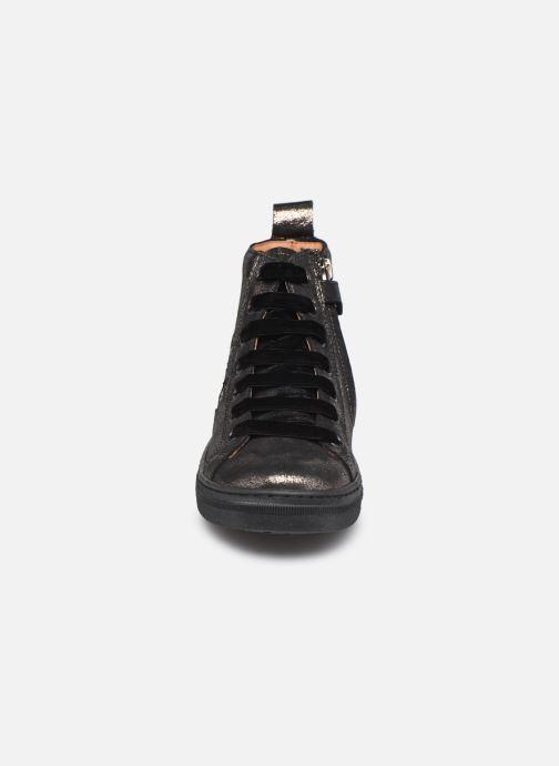 Baskets Froddo G3110148 Or et bronze vue portées chaussures