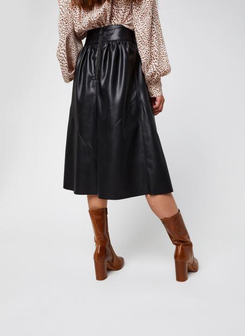 Vêtements School Rag Jayde Noir vue portées chaussures