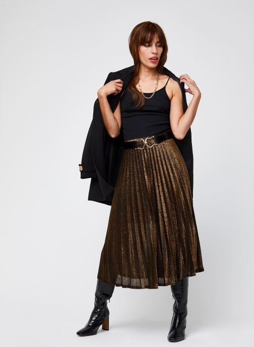 Vêtements School Rag Juliette Or et bronze vue bas / vue portée sac
