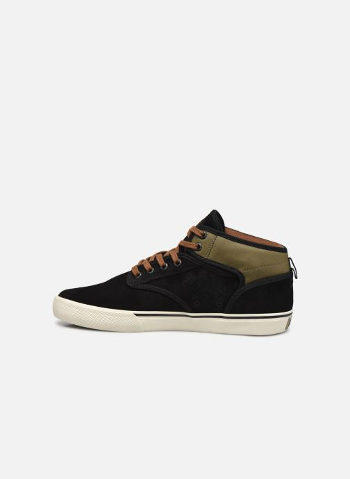 Sneakers Globe Motley mid C Nero immagine frontale