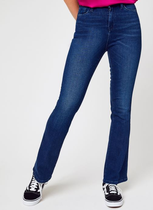 Kleding Pepe jeans Dion Flare Blauw detail