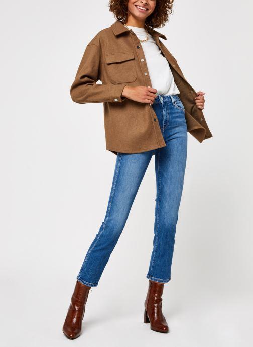 Vêtements Pepe jeans Dion 7/8 Bleu vue bas / vue portée sac