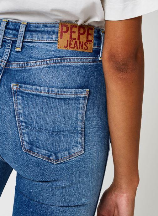 Vêtements Pepe jeans Dion 7/8 Bleu vue face
