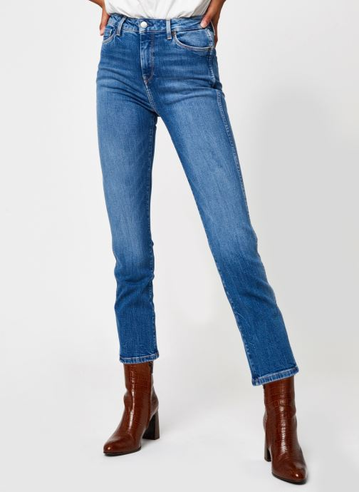 Vêtements Pepe jeans Dion 7/8 Bleu vue détail/paire