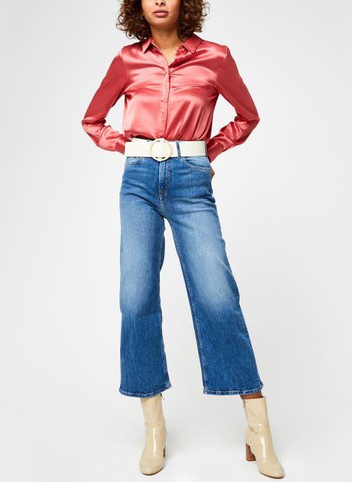 Kleding Pepe jeans Lexa Sky High Blauw onder
